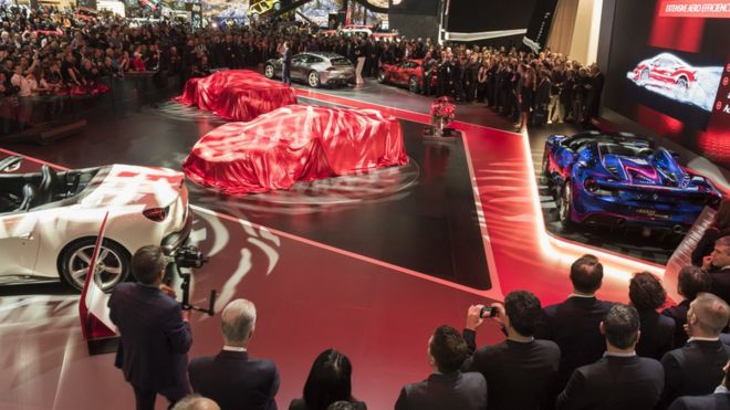 c5481e7c1b Geneva Motor Show  Why it will be electrifying - BBC News