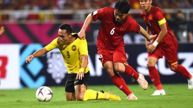 Việt Nam đã thắng Malaysia 2-0 ở vòng bảng hôm 16/11
