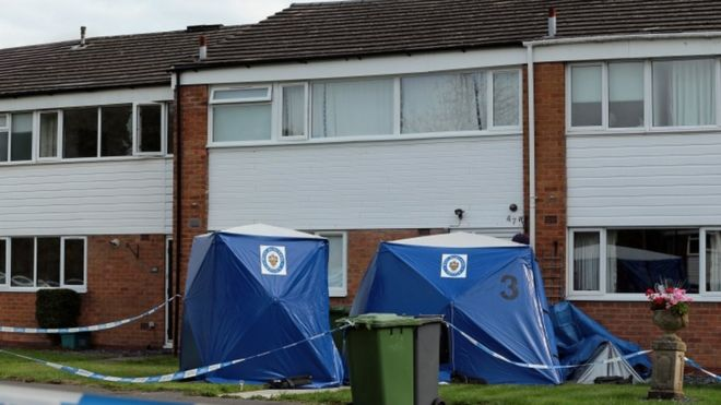 7cb78ebb88b Solihull murders  Mother and daughter stabbed to death - BBC News