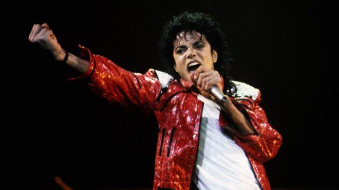 Michael Jackson in concert