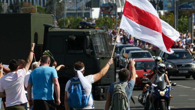 Марш свободи в Мінську