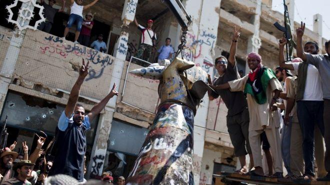 Libyan court sentences 45 to death over 2011 killings - BBC News