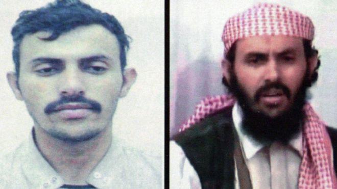 صورتان تظهران قاسم الريمي في مرحلتين مختلفتين من عمره