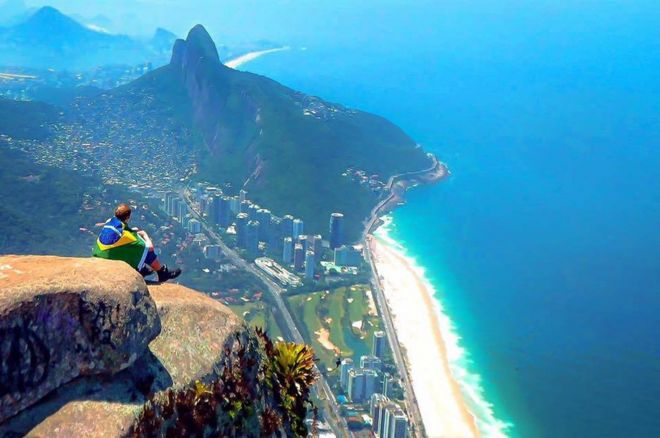 i drunk booked a brazil trip then took on the world bbc news