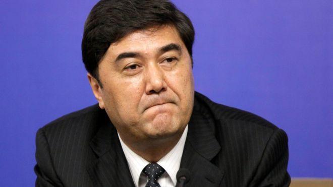 2010年,新疆維吾爾自治區政府主席的努爾·白克力