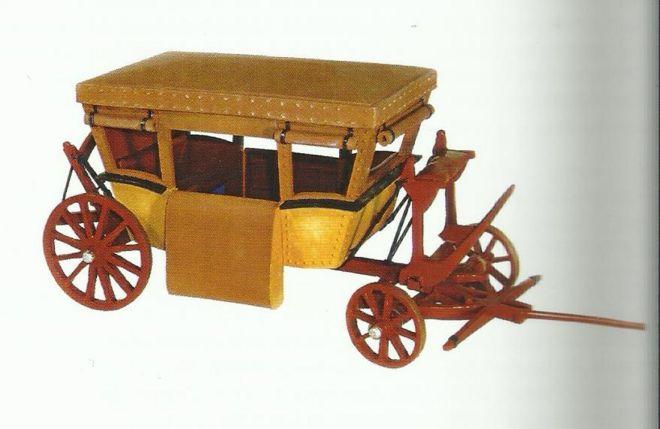 Modelos da carruagem de Pascal