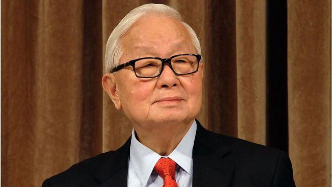 Morris Chang.