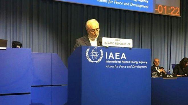 ایران و آمریکا در کنفرانس عمومی آژانس بینالمللی انرژی اتمی به هم تاختند