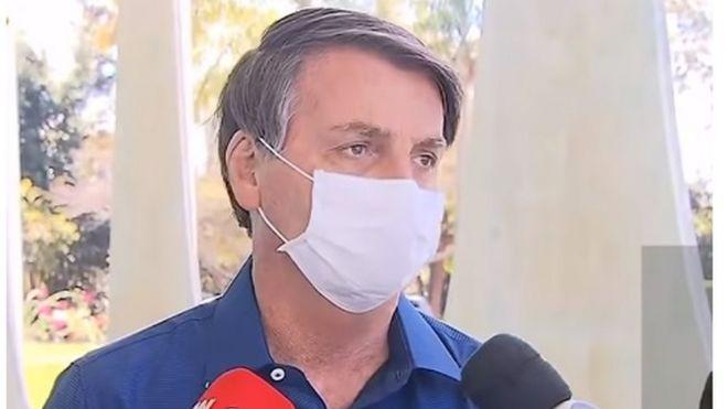 bolsonaro concede entrevista para anunciar que está com covid-19