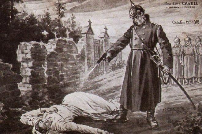 Nurse Edith Cavell And The British World War One Propaganda