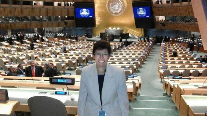 Francesca Di Giovanni at the UN
