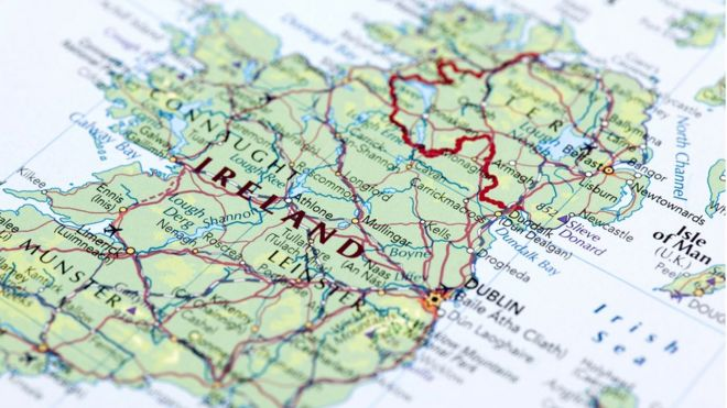 Map Of Ireland With County Borders.Would Some Unionists Back A United Ireland Bbc News