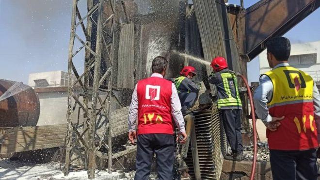آتشسوزی نیروگاه زرگان