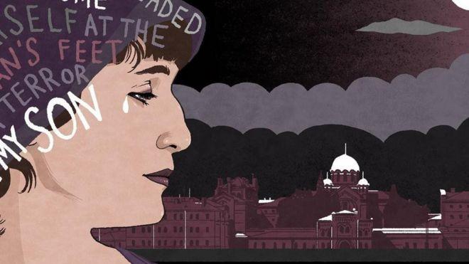 لوحة فنية رسمت للشاعرة آنا أخماتوفا