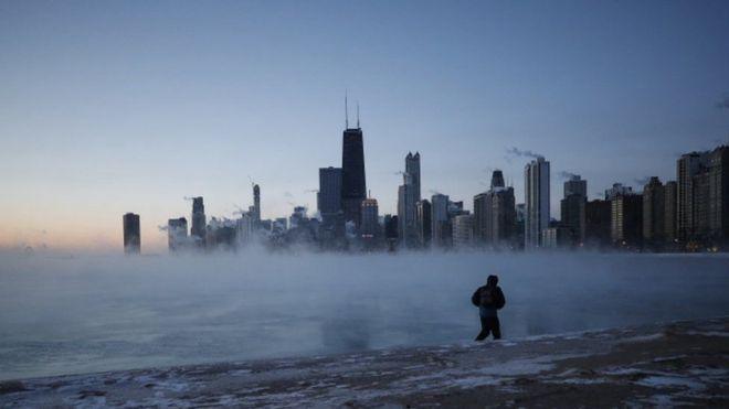 Chicago congelado