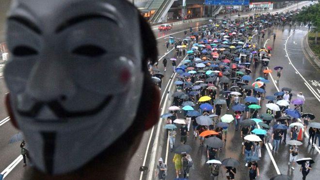 BBC News Tiếng Việt vừa có một cuộc phỏng vấn đặc biệt với một người biểu tình Hong Kong vào tháng 11.