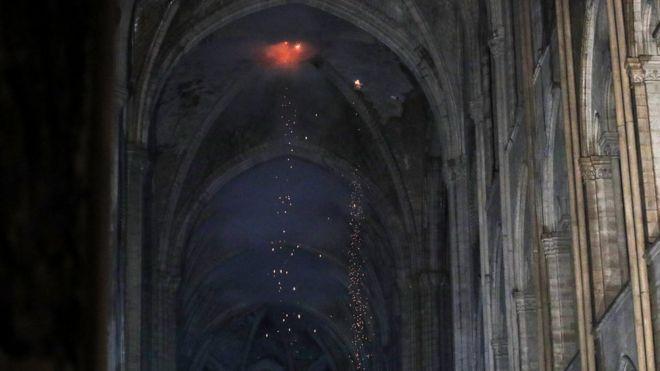 Foco de incêndio em Notre-Dame