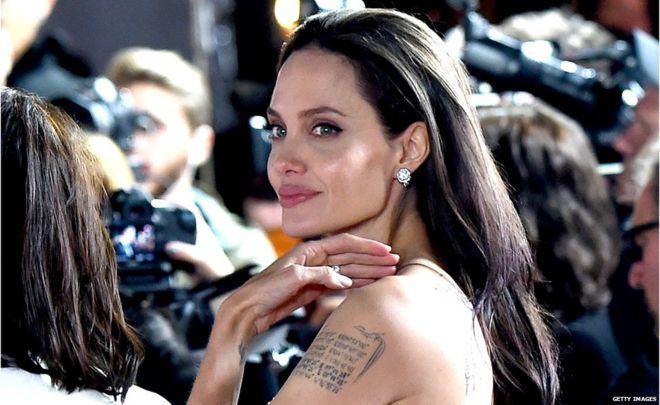 Angelina Jolie Chairs Cambodia Film Festival Panel Bbc News