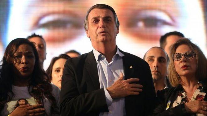 Feminism is sexist': The women backing Brazil's Bolsonaro - BBC News
