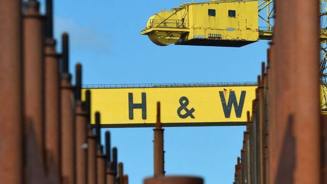 Harland and Wolff gets extra week to find a buyer - BBC News