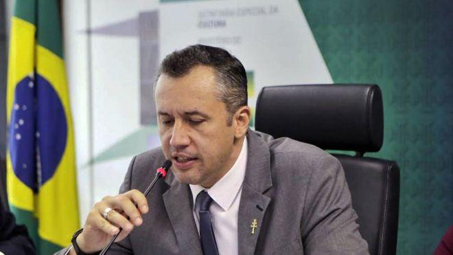 Roberto Alvim, em foto de arquivo