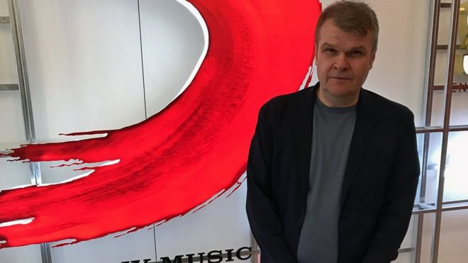 Sony music boss: 'You've got to be good at keeping secrets' - BBC News