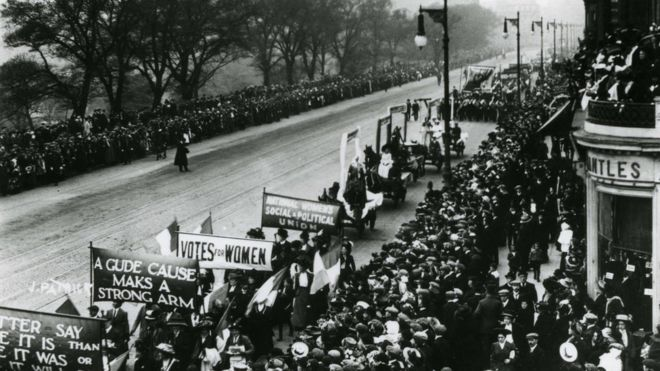 The role of Scottish women in the suffragette movement - BBC News