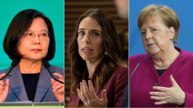 Tsai Ing-wen, Jacinta Ardent, Angela Merkel