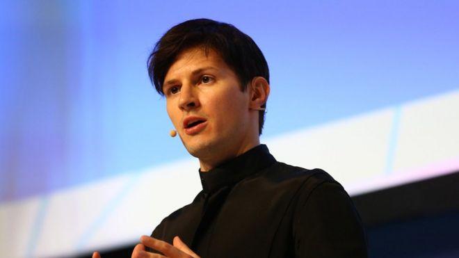 Telegram founder and chief executive Pavel Durov