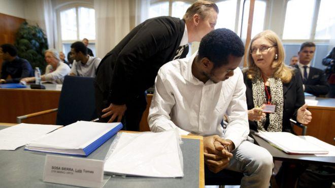 Foto tomada el 29 de agosto en el tribunal de Tampere.