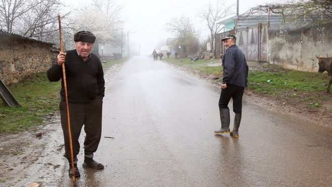 Gürcüstanda azərbaycanlıların boşalan kəndi: