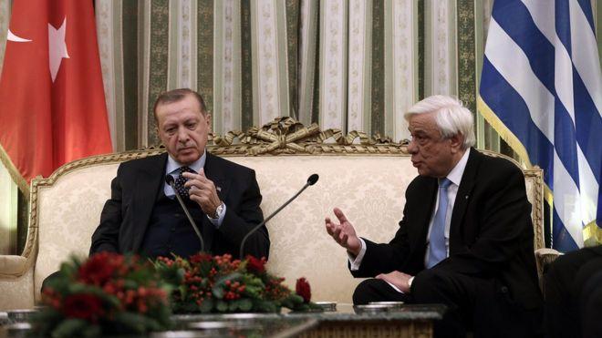 Эрдоган и Павлопулос