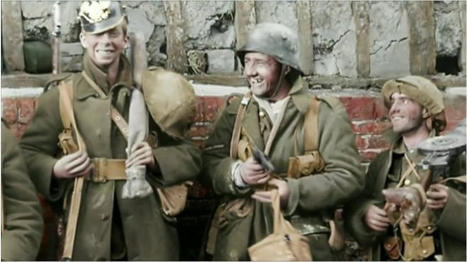 They Shall Not Grow Old 'brought the war to life for us' - BBC News