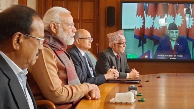 नेपाल भारत प्रघानमन्त्री