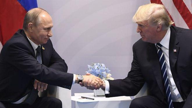 Rais wa Urusi Vladmir Putin amesema kuwa ameimarisha ushirikiano wake na rais wa Marekani Donald Trump baada ya viongozi hao kuonana ana kwa ana G20