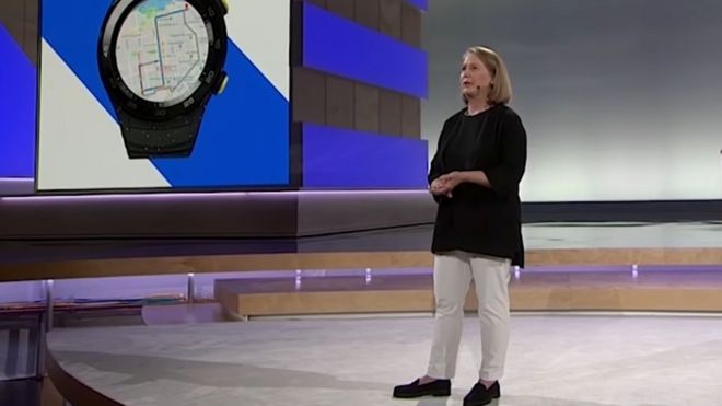 Google's Diane Greene spoke to the BBC on the sidelines of the company's annual cloud conference in San Francisco