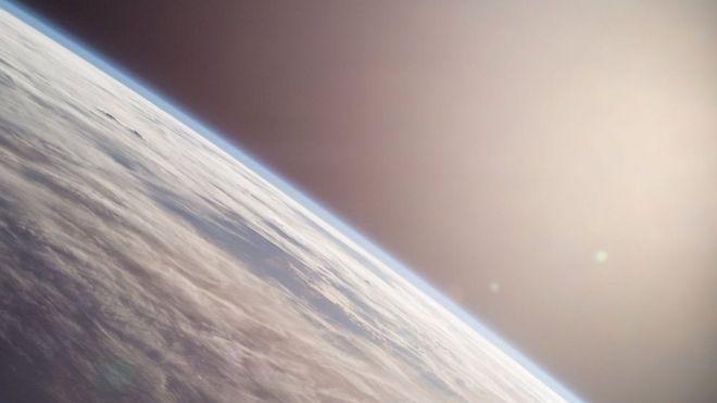 Imagen de la Tierra tomada por el astronauta Terry Virts desde la Estación Espacial Internacional