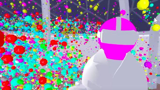 Avatar e tumor em ambiente de realidade virtual