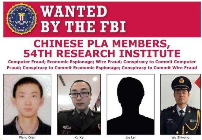 美国联邦调查局通缉令