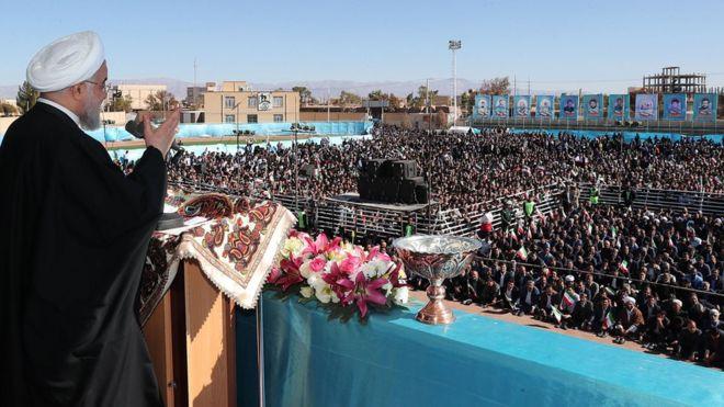 حسن روحانی در کرمان