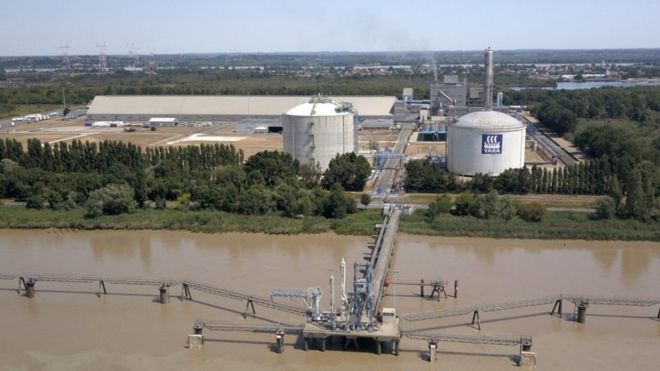 Ammonium nitrate production in France