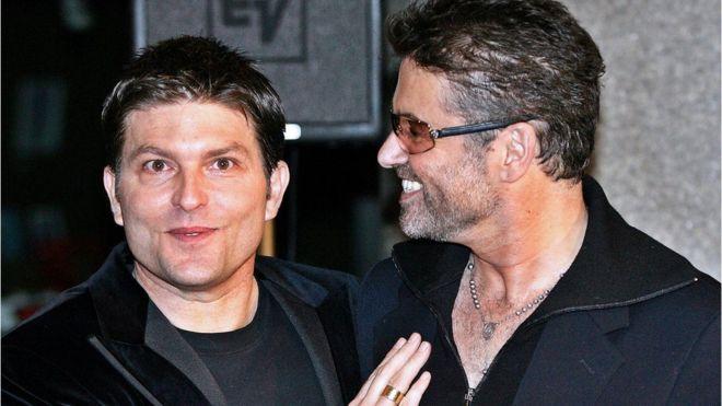 George Michael e Kenny Goss