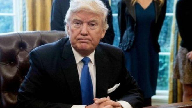 Ông Trump từng chỉ trích các hãng tin lớn việc đăng tin giả mạo.