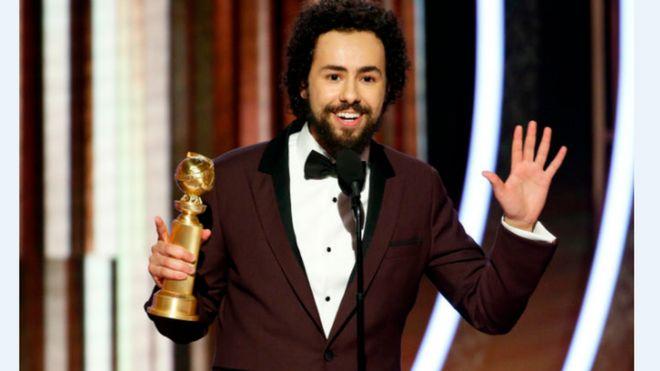 رامي يوسف الممثل الأمريكي من أصول مصرية يفوز بجائزة غولدن غلوب لأفضل ممثل تليفزيوني