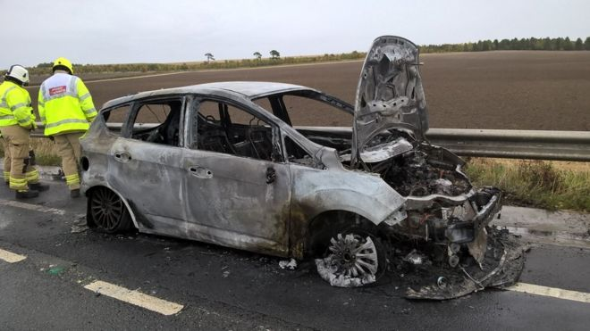 Ford Ecoboost Fires Owners Being Passed To Insurers Bbc News