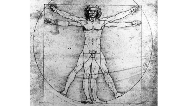 Homem vitruviano de Da Vinci
