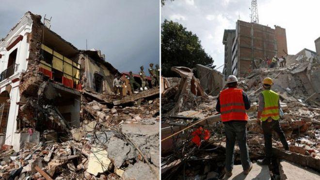 Estn relacionados los dos grandes terremotos registrados en