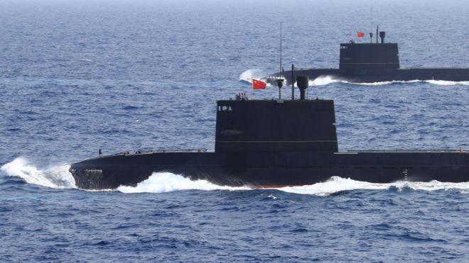 Tàu ngầm TQ