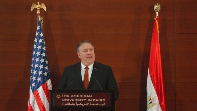 Pompeo: Suriye'den İran postallarını çıkartacağız