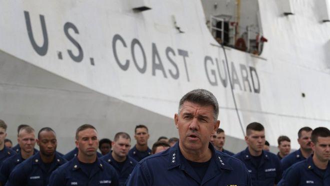 A Guarda Costeira dos EUA foi alvo de hackers